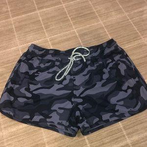 Vv Black camo shorts